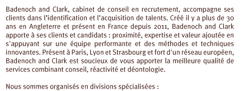 Badenoch clark - Cabinet de recrutement grande distribution ...